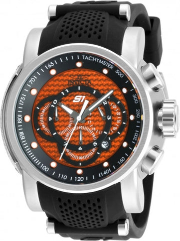 Invicta Men's 19322 S1 Rally Analog Display Quartz Black Watch