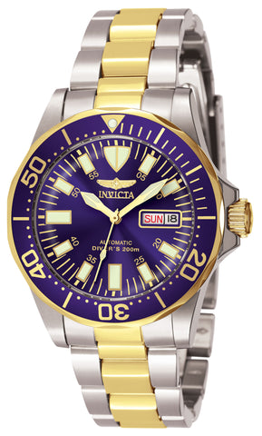 Invicta Men's 7046 Signature Automatic 3 Hand Blue Dial Watch
