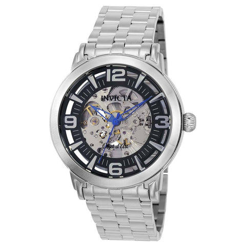 Invicta Men's 22598 Objet D Art Automatic 3 Hand Black Dial Watch