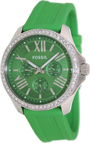 Fossil Watches, Women's Cecile Multifunction Silicone Watch - Green