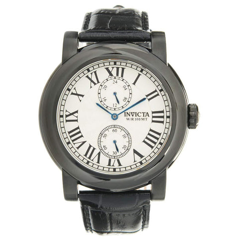 Invicta Men's 22257 I-Force Quartz Multifunction Antique Silver Dial Watch