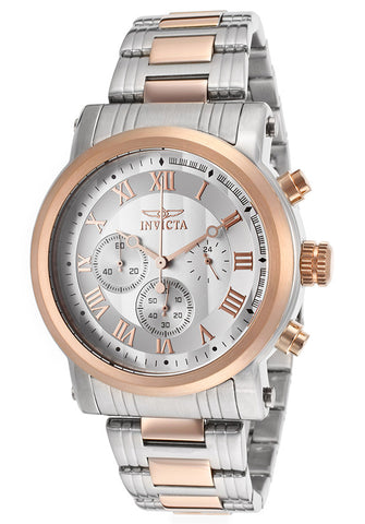Invicta Men's 15214 Specialty Quartz Multifunction Silver Dial Watch