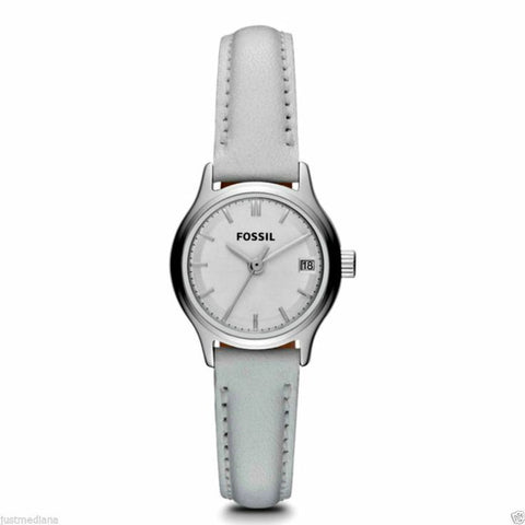 Fossil Archival Mini Leather Watch - White Es3275