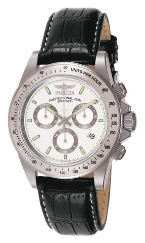 Invicta Men's 7031 Signature Quartz Chronograph White Dial Watch