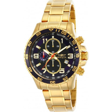 Invicta Men's 14878 Specialty Quartz Chronograph Black, Blue Dial Watch