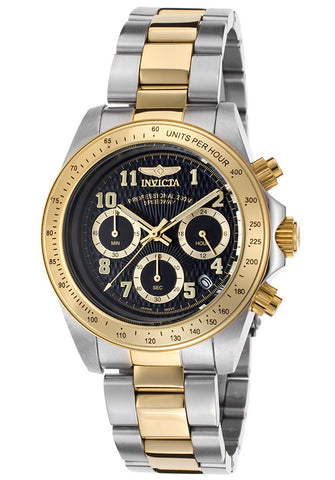Invicta Men's 17027 Speedway Quartz Chronograph Black Dial Watch