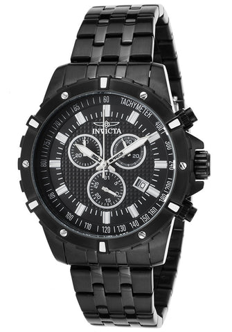 Invicta Men's 17508 Specialty Quartz Chronograph Black Dial Watch