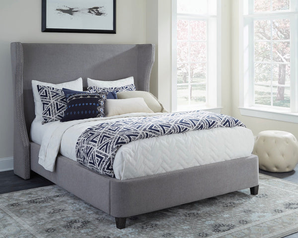The Langevin Upholstered Bed
