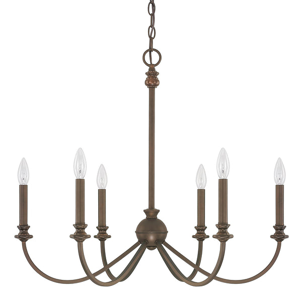 Alexander 6 Light Chandelier