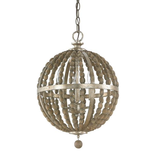 Lowell 3 Light Pendant