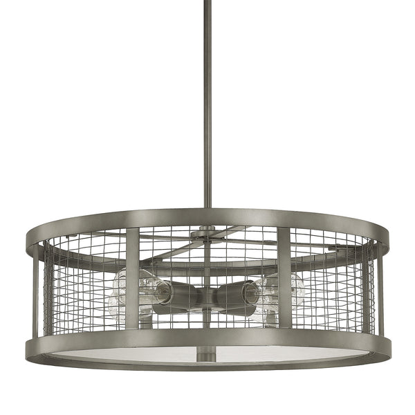 Davis Wide 4 Light Pendant