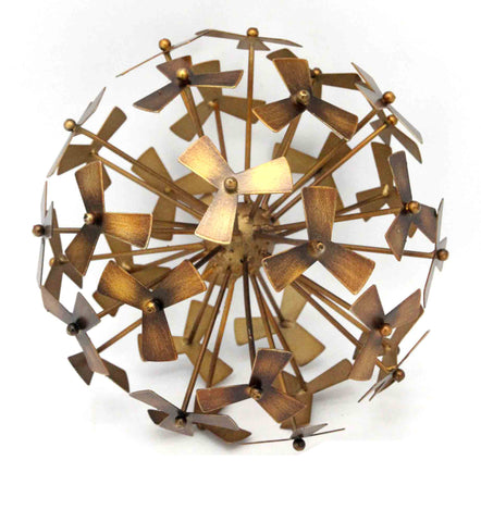 LARGE PINWHEEL DECORATIVE ORB