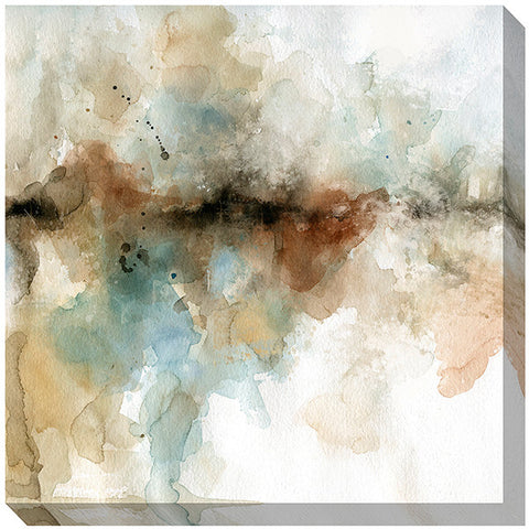 "Horizontal Water Color Way 1   36"" x 36""   Unframed"