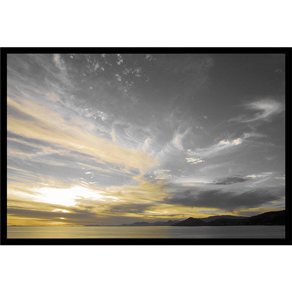 "Heavens Palette   38"" x 56""   Deep Floater Frame"