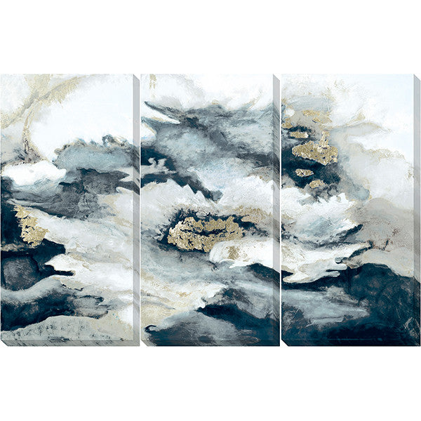 "Three Of A Kind Clouds 1   60"" x 40""   Unframed"