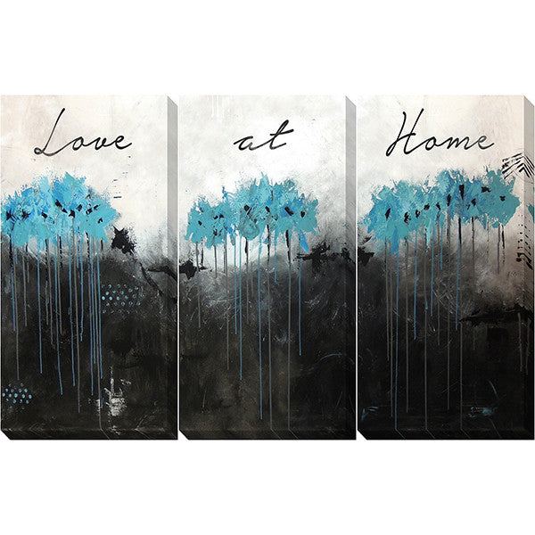 "Love At Home 1   60"" x 40""   Unframed"