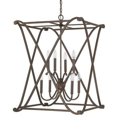 Alexander 8 Light Foyer Fixture