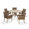 Triangular Dining Table, Rustic