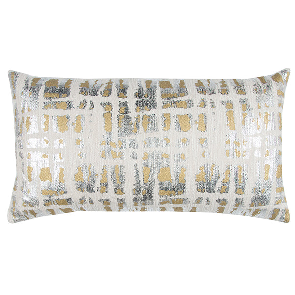 Gold and Silver Pillow