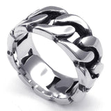 316L Stainless Steel Band Biker Ring - Bikers 4 Life Stuff - 3