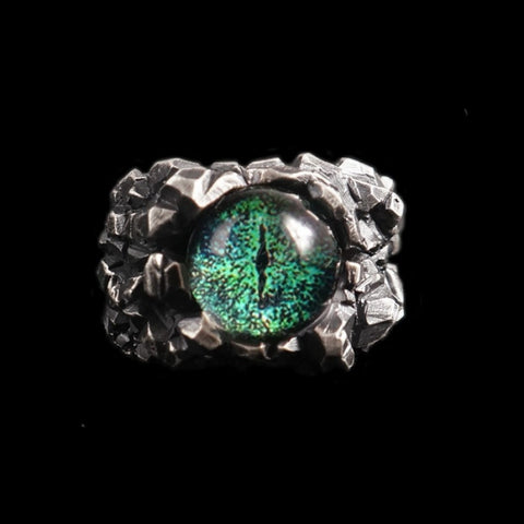 Original-Ghost eye 925 silver rings SSJ104