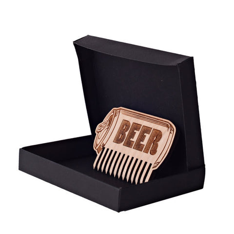 Beer'd Comb And Gift Box