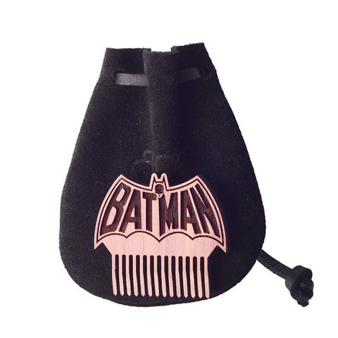 Old School Batman Mini Beard/Mustache Comb