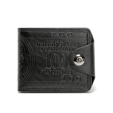 PU Leather Dollar Price Wallet