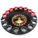 Creative Russia Drinking turntable Shot Glass Roulette Set