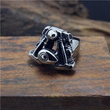 Stainless Steel Engine Ring