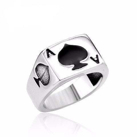 Lucky Spade A Playing Card Ring