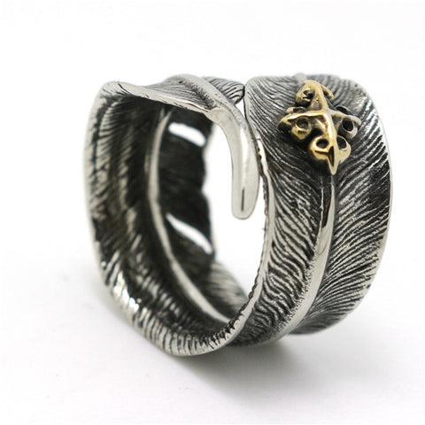 Feather Ring - Bikers 4 Life Stuff - 1