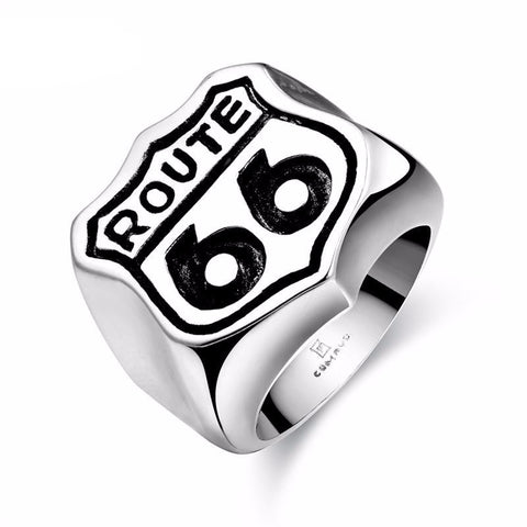 Route 66 Ring - Bikers 4 Life Stuff - 1