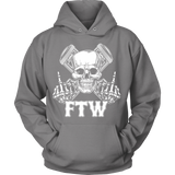 Bikers4LifeStuff Original- FTW Biker Skull Hoodie - Bikers 4 Life Stuff - 8