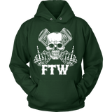 Bikers4LifeStuff Original- FTW Biker Skull Hoodie - Bikers 4 Life Stuff - 3