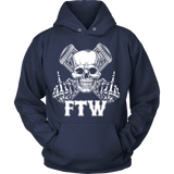 Bikers4LifeStuff Original- FTW Biker Skull Hoodie - Bikers 4 Life Stuff - 5