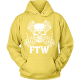 Bikers4LifeStuff Original- FTW Biker Skull Hoodie - Bikers 4 Life Stuff - 10