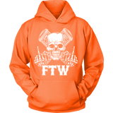 Bikers4LifeStuff Original- FTW Biker Skull Hoodie - Bikers 4 Life Stuff - 12