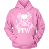Bikers4LifeStuff Original- FTW Biker Skull Hoodie - Bikers 4 Life Stuff - 9