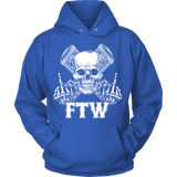 Bikers4LifeStuff Original- FTW Biker Skull Hoodie - Bikers 4 Life Stuff - 11