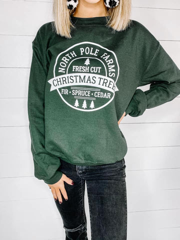 North Pole Farms Sweatshirt