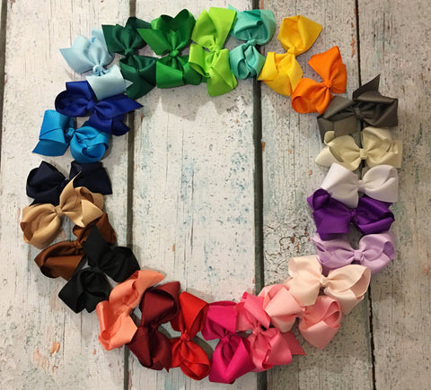 "4"" Bows - Set of 25 - Glittering Boutique"