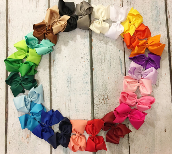 "5"" Bows - Set of 25 - Glittering Boutique"