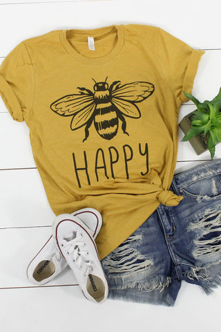 Bee Happy - Glittering Boutique