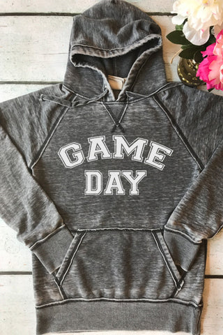 Game Day Vintage Fleece Pullover - Glittering Boutique