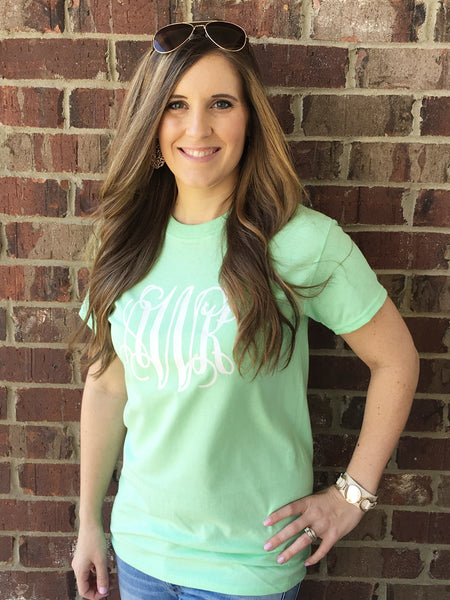 Personalized Tees - 20 Colors!! - Glittering Boutique