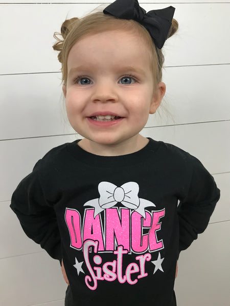 Dance Sister Shirt - Glittering Boutique