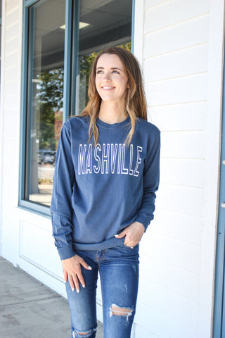 Nashville Comfort Colors Tee