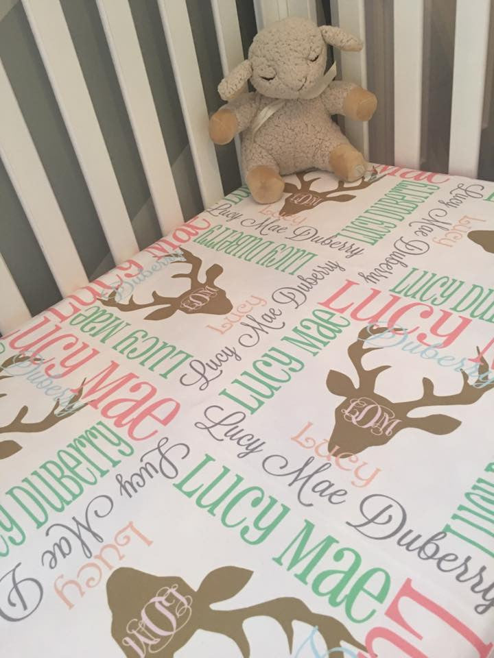 Personalized Baby Blankets - Lucy Collection - Glittering Boutique