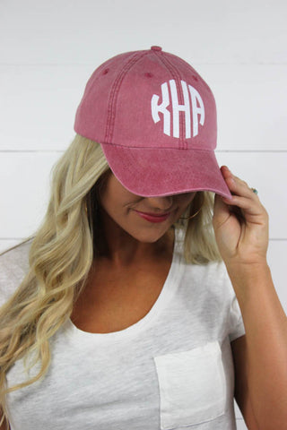 Personalized Hats | 35 Colors Available!